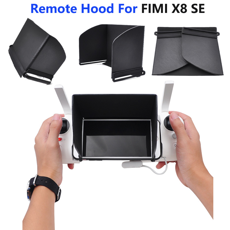4.7/5.5 Inch Sunshade Sunhood For FIMI X8 SE Remote Controller For FIMI X8 SE Drone Accessories