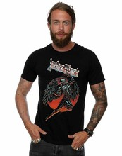 เสื้อผ้า ABSOLUTE CULT Judas Priest Mens BTD Redeemer T เสื้อ 5827(China)