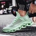 Популярные весенне-осенние мужские кроссовки  дышащая Спортивная обувь для улицы  легкие удобные спортивные мужские кроссовки