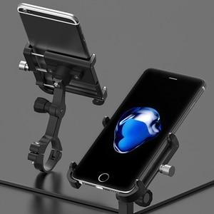 Image 5 - Gubプラス11 360回転オートバイ自転車電話ホルダー自転車携帯サポートバイク電話スタンドアルミ電話スタンド
