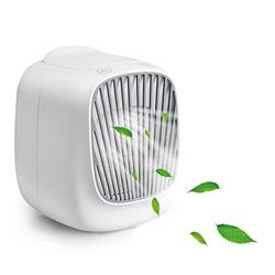 Adoolla Mini USB Air Cooler Home Desktop Small Refrigeration Air Conditioning Water Cooling Fan w Wentylatory od AGD na