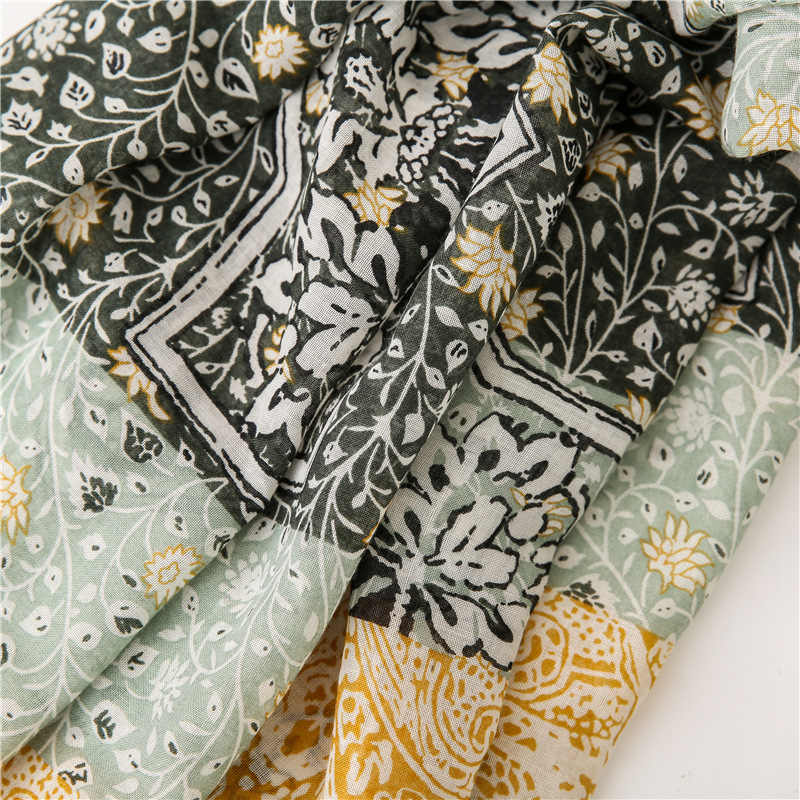 Wanita Baru Fashion Afrika Bunga Rumbai Viscose Selendang Syal Wanita Berkualitas Tinggi Bungkus Pashmina Bufandas Muslim Jilbab Jaring Rambut