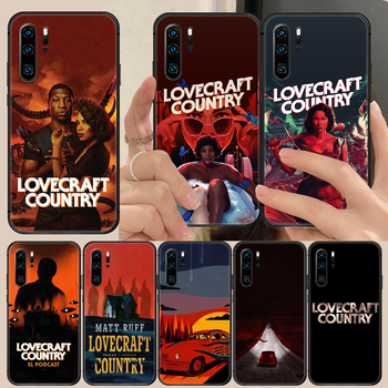 horror movie lovecraft country Phone Case Cover Hull For Huawei P8 P9 P10 P20 P30 P40 Lite Pro Plus smart Z 2019 black coque image