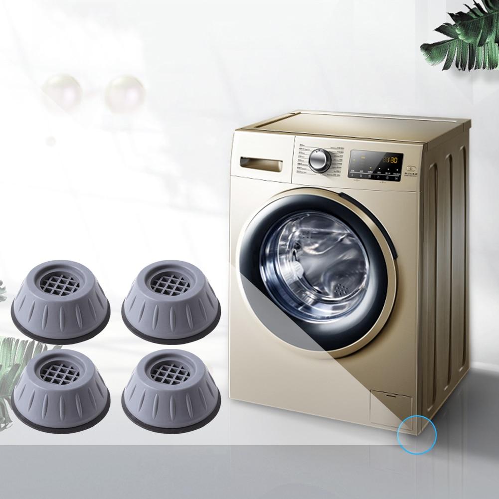ножки для стиральной машины 4 шт. средства ухода за кожей стоп для стиральной машины шагающая лапка резиновые антивибрационные Шум уменьшае...