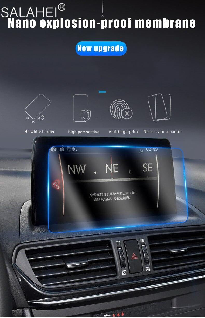 Роскошная gps автомобильная навигация закаленная защитная пленка