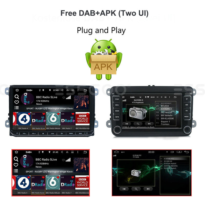 Super Promo 2ae1ad Usb Car Dab Antenna Digital Broadcast Dab Radio Box Receiver Adapter For Android Car Radio Applicable For Europe Australia Cicig Co