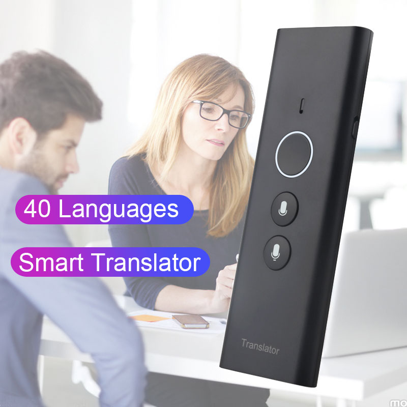 Portable T1 Instant Translator Multi Languages Traductor Voice Translaty Personal Travel Assistant Simultaneous Interpretation