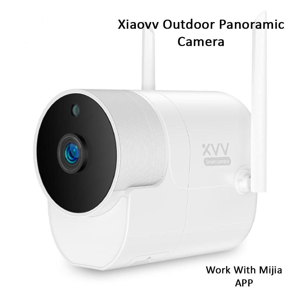 Image 4 - 2019 شاومي Xiaovv في الهواء الطلق بانورامية كاميرا مقاومة للماء 360 IP 1080P كاميرا مراقبة لاسلكية واي فاي للرؤية الليلية مع Mijia APP-في كاميرات المراقبة من الأمن والحماية على AliExpress