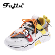 Fujin 2019 New Stylish Woman Sneakers Dropshipping INS High