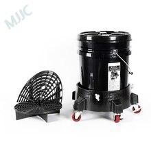 MJJC бренд с высоким качеством детализации комплект ковша Долли, 5 галлонов ведро, защита от гравия, мытья доски и гамма уплотнения крышки