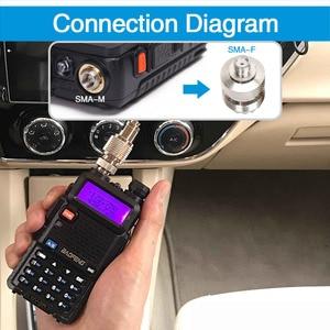 Image 5 - Nmo Abbree HH N2RS VHF UHF Anten Có Từ Tính Mount Adapter Cho Bộ Đàm Baofeng UV 5R UV 82 UV 9R Plus Động Yaesu Tyt Bộ Đàm