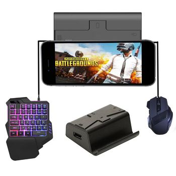 G3 Pubg Gamepad Controller for ios PUBG Mobile Android to PC Bluetooth USB Keyboard Mouse Converter Stand for iPad Plug and Play