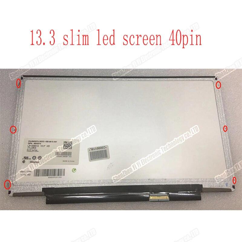 LCD Screen Matrix LP133WH2 TLGA LTN133AT16 LP133WH2 TLA2 B133XW03 V.4 N133BGE-L31 LTN133AT20 CLAA133WA01A