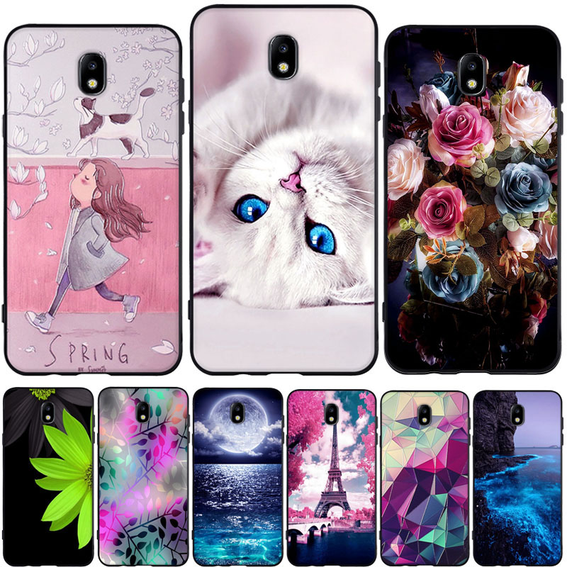 <font><b>Mobile</b></font> <font><b>Case</b></font> For <font><b>Samsung</b></font> Galaxy <font><b>J7</b></font> <font><b>2017</b></font> J730F <font><b>Case</b></font> Soft TPU Silicone Back Cover for Coque <font><b>Samsung</b></font> <font><b>J7</b></font> <font><b>2017</b></font> J730F <font><b>Case</b></font> Cover Capa image