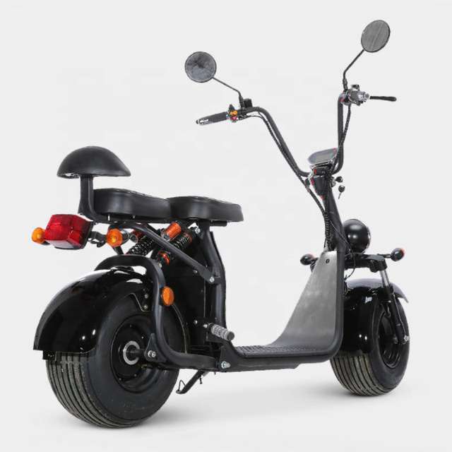 EEC COC Certified Street Legal Electric Vehicles Motorcycle 60V 20ah 2 Seats Adult Used Big Fat Tire Electric Citycoco Scooter 5