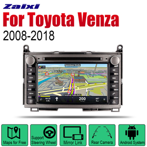 Автомагнитола ZaiXi, 2 Din, Android, DVD, для Toyota Venza 2008 ~ 2018
