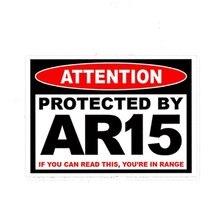 Персональный 3d стикер для автомобиля защищенный ar15 ar 15