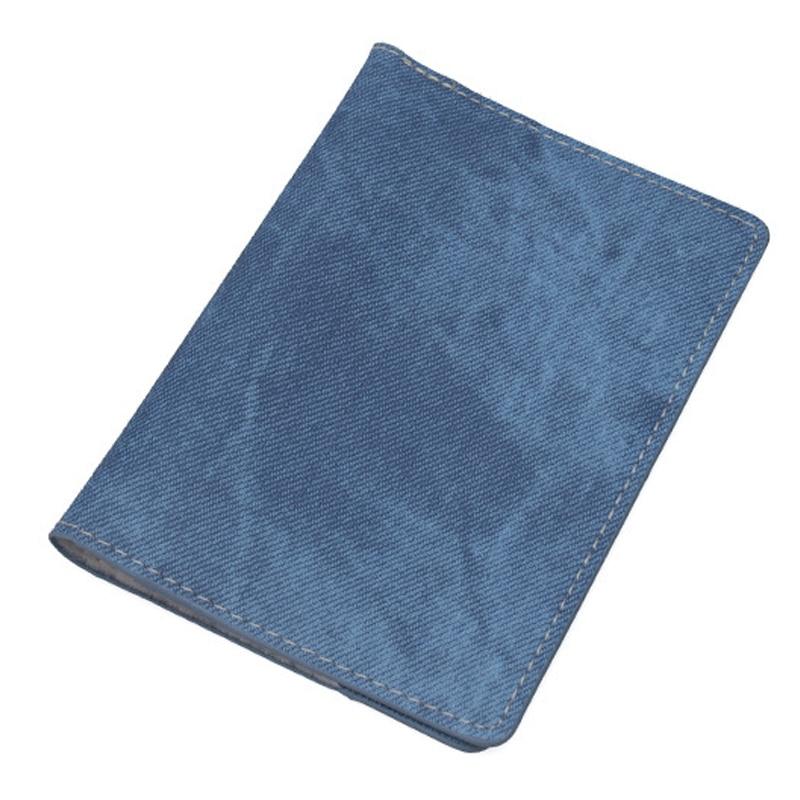 Zoukane Denim Canvas Pants Color Passport Cover Case ID Holder Traverl Accessories Passport Card Wallet Clip ZSPC39