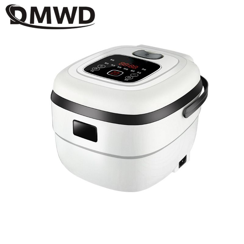 DMWD 2.5L Intelligent Electric Rice Cooker 220V Mini Food Steamer Yogurt Machine Cake Maker For 1-4 People 24H Appointment