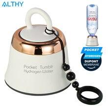 Портативный карманный водородный генератор воды althy бутылка