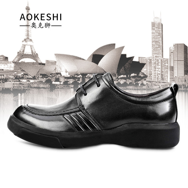 big size Lace-Up Business Casual Mens British Soft Cowhide designer shoes men high quality Men Dress Shoes,Summer Spring