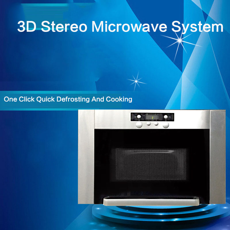 Sweden Original Imported Stainless Steel Large Capacity Embedded Ultra-thin 3D Three-dimensional Microwave Oven