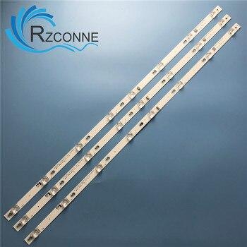 """Tira de LED para iluminación trasera 8 lámpara para TCL 43 """"TV D43A810 L43F1B L43P1A-F 43HR330M08A2 V5 Shine0n 2D02636 DS-4C-LB4308-HR02J ZM02J"""