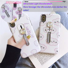 Phone case For iPhone 11 pro XS Max XR X 6S 7 8 Plus Cover UV