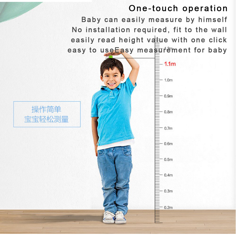 Measuring Handheld Kids Device Sensor For Adults Ultrasonic Machine And Stadiometer Height Rule Monitor