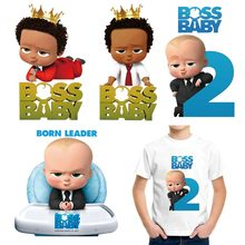 Patches Iron T-Shirt Transfer-Sticker Clothing Applique-Decoration Print-On Boss Baby