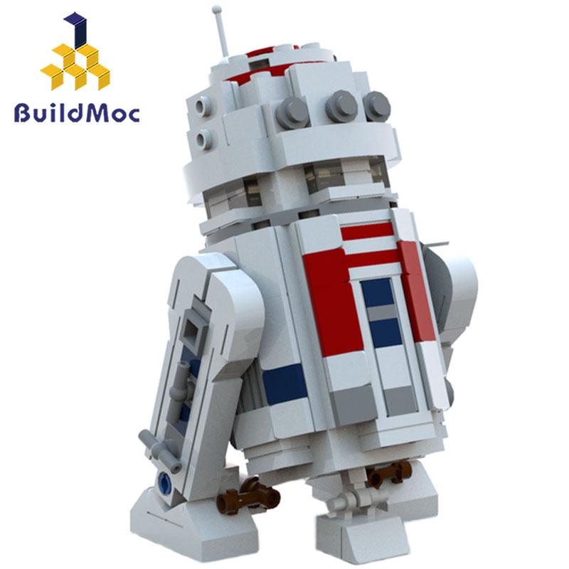 Construcdmoc 288 pièces mini lepining Star Series Wars R2 Robot ensemble D2 hors d'impression blocs de construction Toyswars anniversaire cadeaux de noël