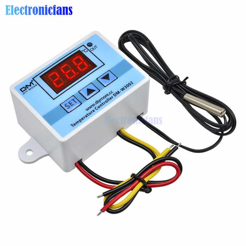 XH-W3002 12V Digital LED Temperature Controller Microcomputer Thermostat Sensor