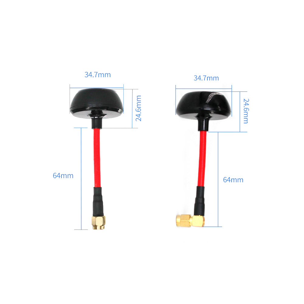 Image 2 - 5.8GHz Quadcopter UAV FPV Antenna Mushroom Image Picture Video Transmission model aircraft Antena SMA Male Aerial TX5800 MG 6-in Communications Antennas from Cellphones & Telecommunications