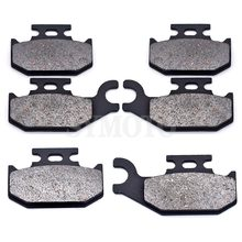 For ATV Can Am BRP Outlander 400 500 650 800 2007-2014 Renegade 500 800 2007-2011 Motorcycle Front Rear Brake Pads sets
