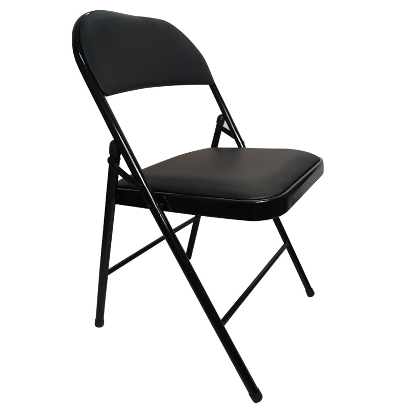 Chair Simple Folding Chair Steel Folding Chair Office Home Staff Meeting Back Folding Chair Computer Chair