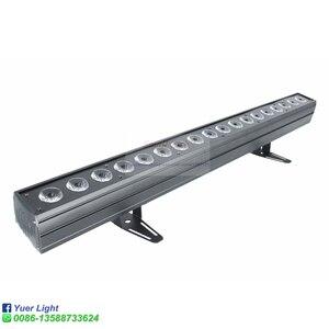 Image 2 - 4 adet/grup 18x18W RGBWA UV 6IN1 LED duvar yıkayıcı ışık DMX512 ses disko DJ parti Bar düğün duvar yıkama sahne etkisi aydınlatma