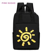 Розовый Sugao рюкзак нейлон женщины маленький кошелек заказать сумка мультфильм высокое качество для ноутбука новый