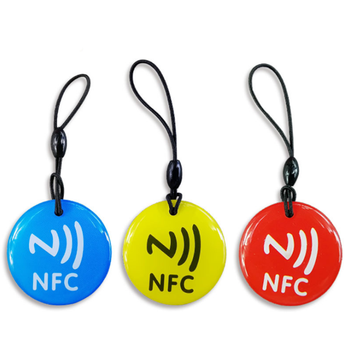 3pcs/lot Waterproof 3 colors Crystal Epoxy NFC Tag Ntag213 for All Phones - discount item  5% OFF Access Control
