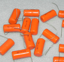 10 adet CDE SPRAGUE SBE715P 1600V0. 033UF P35MM turuncu ateş film kondansatör MKP 333J 333/1600V 715P 0.033UF 1600V