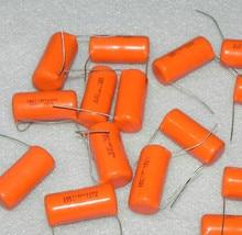 10PCS CDE SPRAGUE SBE715P 1600V0.033UF P35MM Orange fever film capacitor MKP 333J 333/1600V 715P 0.033UF 1600V