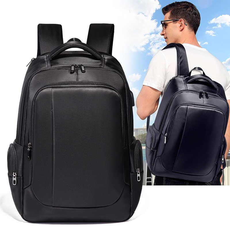 TIANHOO nowe plecaki biznesowe plecak na komputer plecak na komputer USB o dużej pojemności