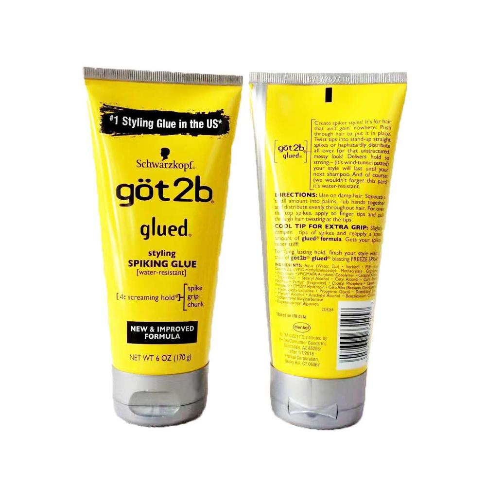 Got 2b Ultra Glued Eco Gel Hair Cream 150 Ml Makeup Stage Got 2b Waterproof Hair Styling Glue Got 2 B Hair Styling