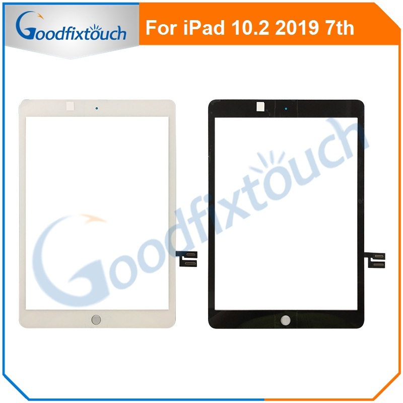 New For IPad 10.2 7th Gen A2197 A2198 A2200 Touch Screen Digitizer Outer Glass Panel For IPad 7 Replacement Parts AAA+ Tested