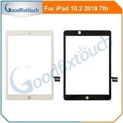 Nowy dla iPad 10.2 7th Gen A2197 A2198 A2200 ekran dotykowy Digitizer zewnętrzny Panel szklany dla iPad 7 części zamienne AAA + testowane w Ekrany LCD do tel. komórkowych od Telefony komórkowe i telekomunikacja na