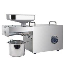 Olej przemysłowy ekstraktor z Tem-Control frezarka do oleju orzechowego śruba do tłoczenia na zimno i tłoczenia na gorąco maszyna do tłoczenia oleju o wysokiej wydajności na tanie