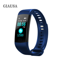 цена на Smart Bracelet Y5 Women Watch Activity Tracker wristband Heart Rate Blood Pressure Monitor Fitness Tracker Band for IOS Android