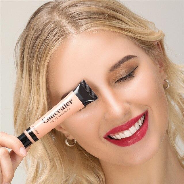 Full Cover 6 Colors Liquid Concealer Makeup 20ml Eye Dark Circles Cream Face Corrector Waterproof Make Up Base Cosmetic 2