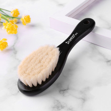 Face-Duster-Brush Neck Hair-Clean Bang Barber Styling-Tool Soft Wooden-Handle Sweeping-Beard