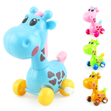 Classic Toy Clockwork-Toys Educational-Toys Wind-Up Kids Children Cute Cartoon for Gifts