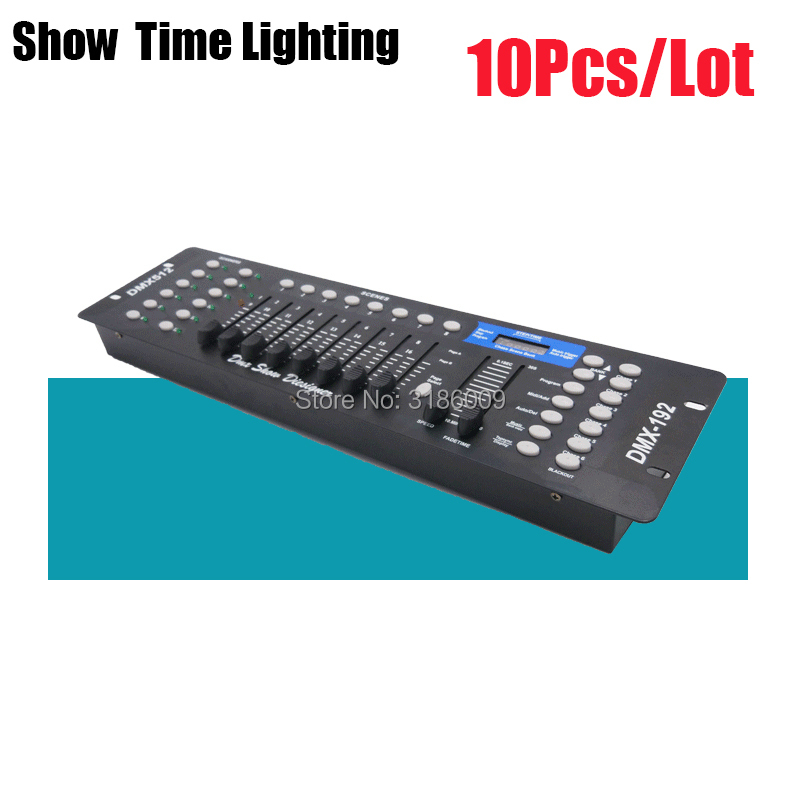 10Pcs/Lot 192 DMX Console Stage Lighting Controller 192 Channels DMX-512 Moving Head Led Par Controller DMX Show Dieliquer